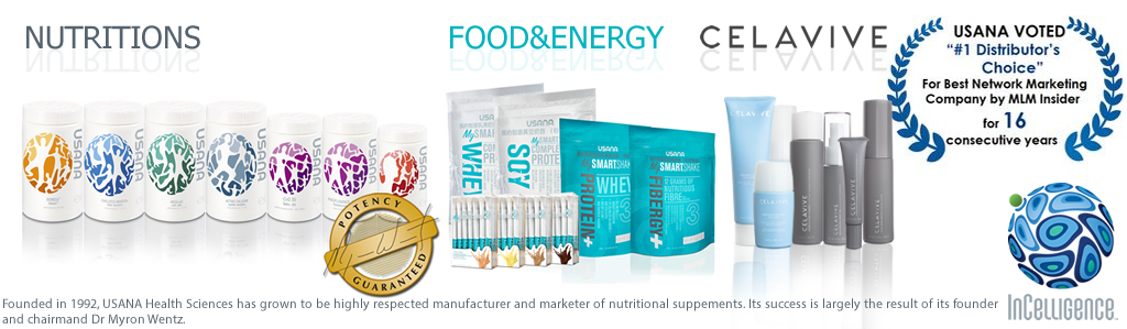 USANA Nutritions, Food&Energy, and Sense Products